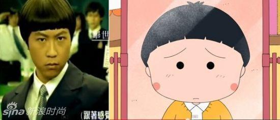 """鲁豫换发型变真人版""""大头儿子"""" 盘点那些卡通脸的明星"""