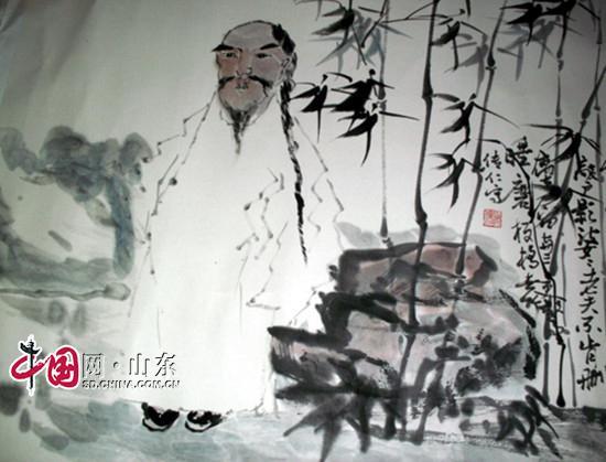 专访山东省著名写意花鸟画家谢传仁先生 图
