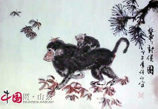 专访山东省著名写意花鸟画家谢传仁先生 图 艺术收藏 中国网山东 网上