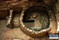 河北献县发现一座反映唐代人富足生活的古墓(组图)