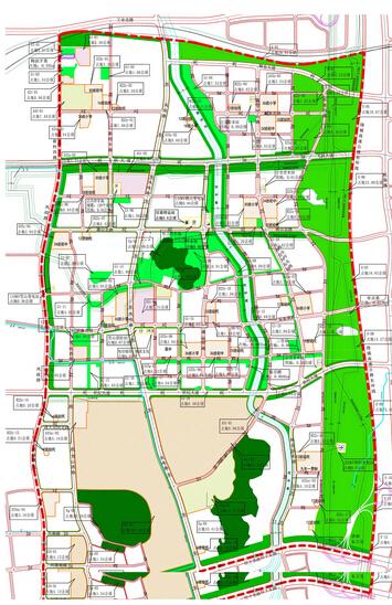 7城市六线规划图