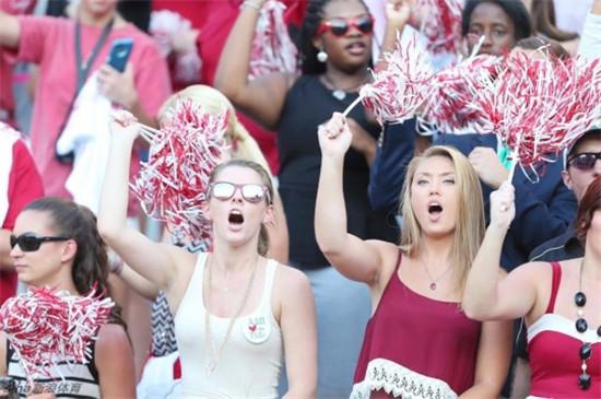 美国大学新闻a新闻美女图片粉丝集锦-美女球迷个旧市体育图片