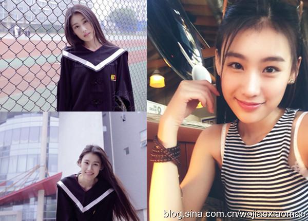 23岁北影女神王婉中惹火毕业照酷似黄圣依 已签约杨子
