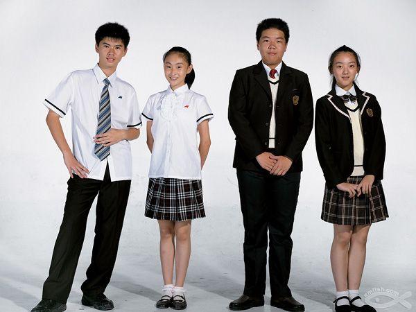 中小学生校服国标出台 图