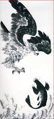 鹰自古就被称为炎黄子孙的旗帜,至今仍是中华民族的图腾之一.