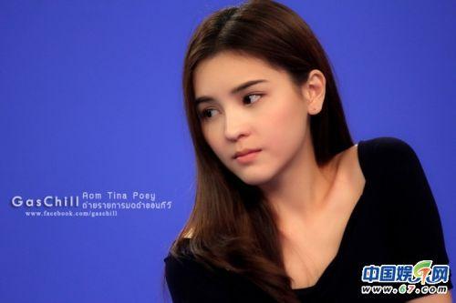 泰国明星平采娜素颜图片