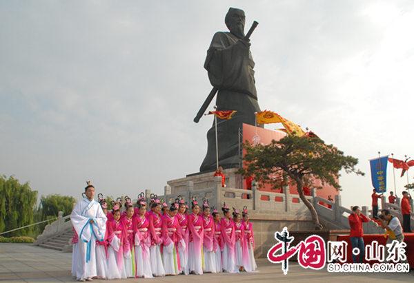 第十二届齐文化节暨第六届齐文化博览会开幕