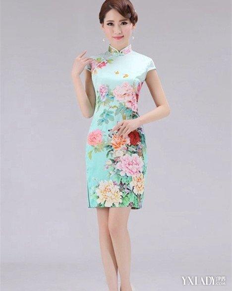 复古旗袍款式图欣赏 古典旗袍尽显美好身段(组图)