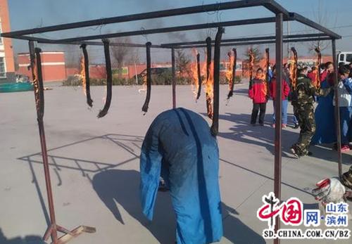 滨州市滨城区杨柳雪镇:安全教育体验走进农村校园