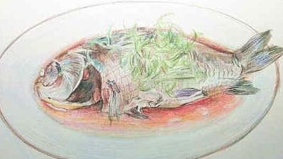 大学生手绘江苏美食走红 盐水鸭大闸蟹锅盖面看了都流