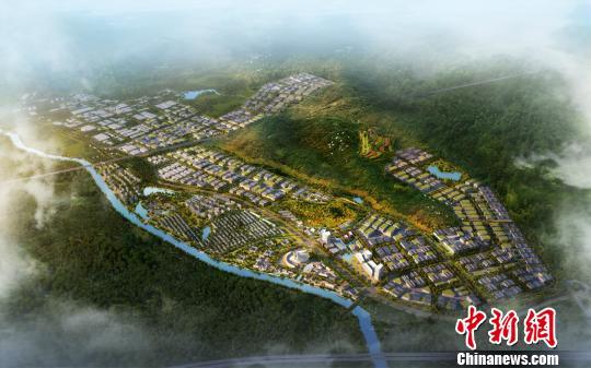中国美妆小镇载民族梦 以梦为马打造 中国格拉斯图片