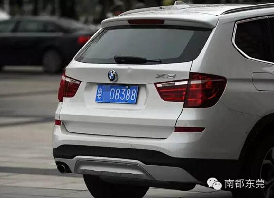 2016东莞安装车牌的步骤图