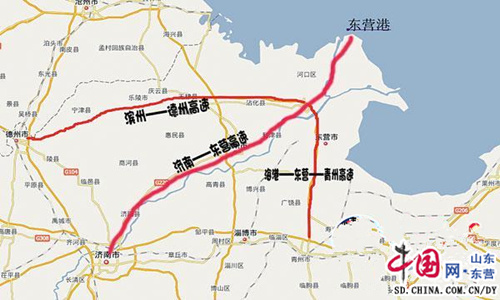淄博高青县城地图