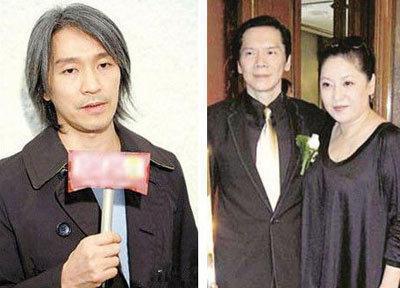 香港影视大亨向华强太太陈岚(向太),原本与周星驰是合作的好朋友.
