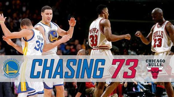 勇士打破公牛纪录 73胜9负战绩见证NBA最佳球队(组图)
