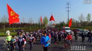 《行走的力量》——2016年山东省昌乐二中65千米远足拉练宣传片