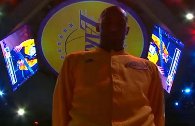 【高清组图】科比NBA退役最后一战现场画面