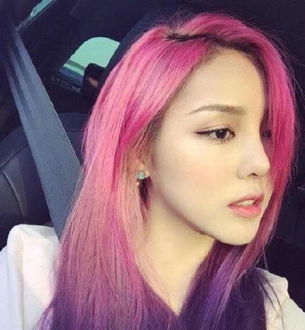 南韩最会化妆的妹子也最会弄头发 彩妆大师的超炫发色图片