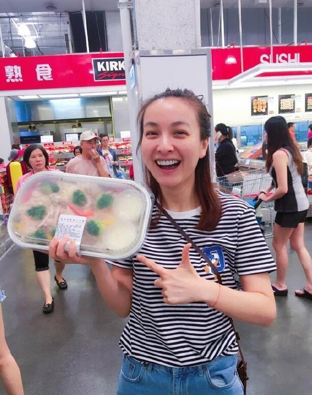 吴昕超市扫货 网友:这才是娱乐圈真正的素颜照吧