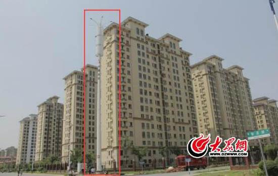 中国铁塔股份有限公司临沂市分公司在小区附近建设铁塔基站,他们担心