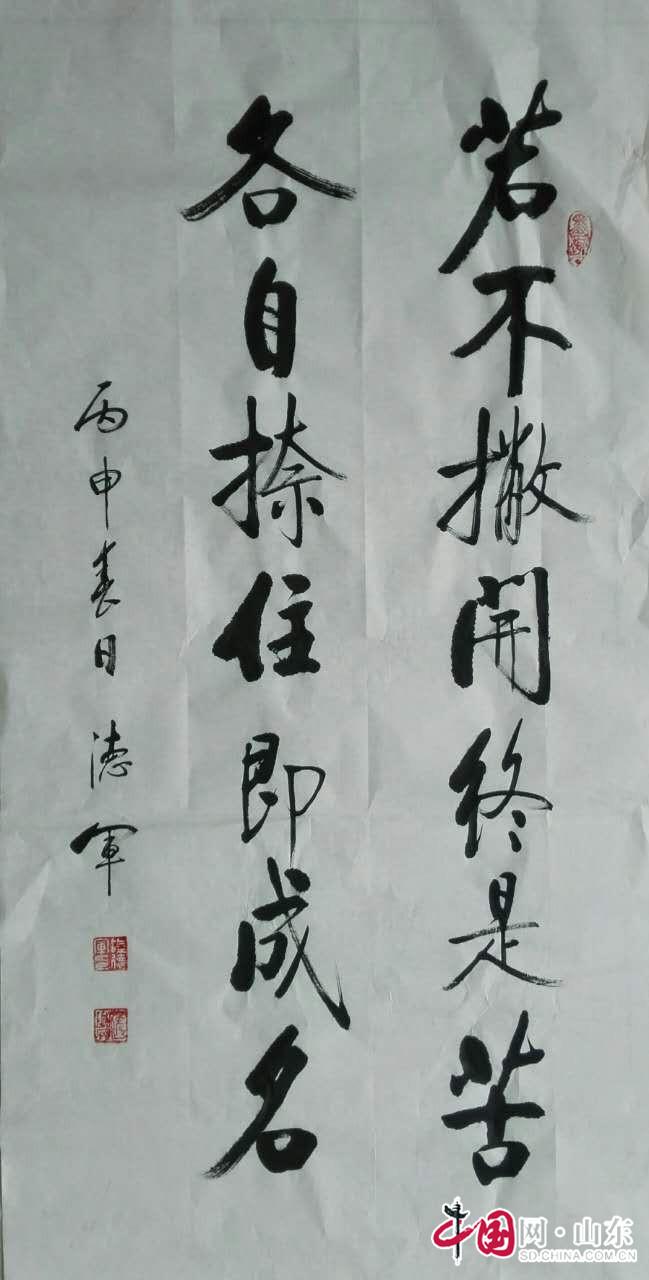 书怀逸兴墨龙飞——陆德军先生书法艺术赏析