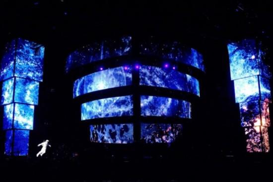 周杰伦上海演唱会每秒都是科技呈现 成本突破三千万人民币(组图)