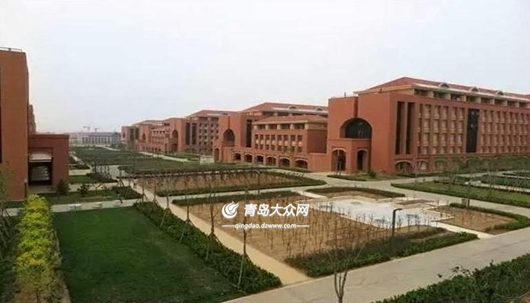 目前,在山大青岛校区一期工程的12组建筑单体中,教学楼e区和学生公寓