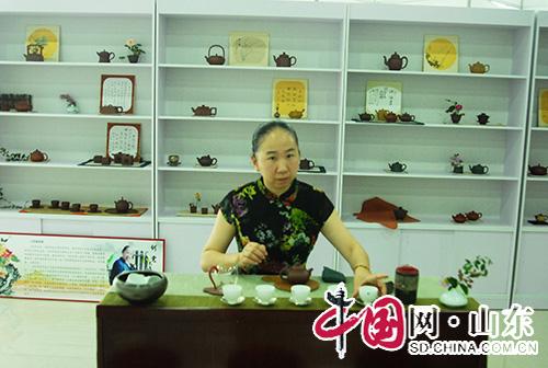 第二届宜兴紫砂茶艺暨滨州书画博览会盛大开幕(图)