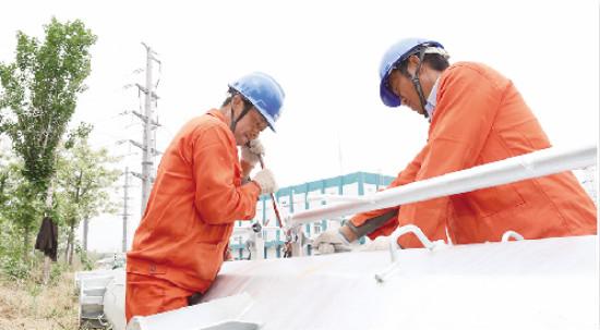 滨州供电公司为全市经济发展铺就电力高速路(图)