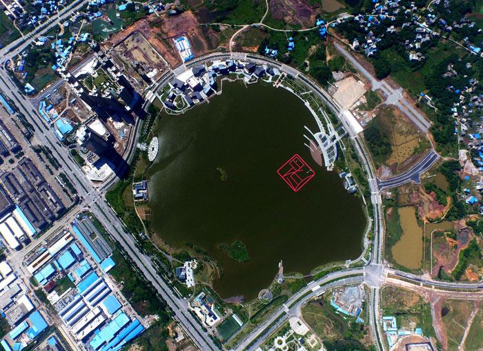 """飞""""阅""""广西——航拍钦州白石湖"""