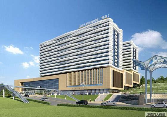 山大齐鲁医院 青岛 将扩建 新增近千个车位图片
