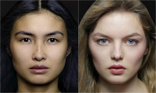 世界50个民族的素颜美女代表都长啥样(组图)
