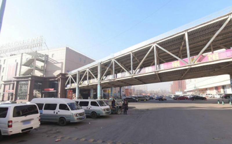 北京北五环天桥坍塌 近期一直在施工(组图)