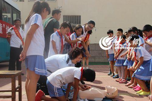 小学生急救有五大误区 听青岛专家怎么说