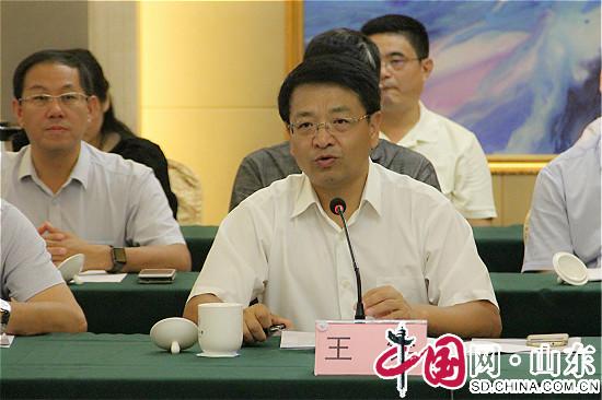 青岛市教育局副局长王铨讲话中