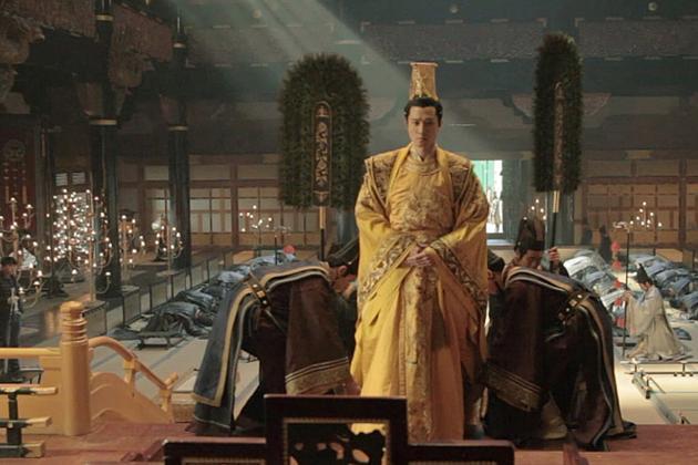 古装皇子手绘图