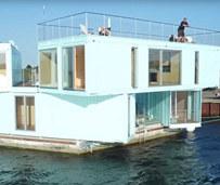 创意!集装箱改造海上学生宿舍