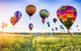 20个热气球引爆费县飞行嘉年华(组图)