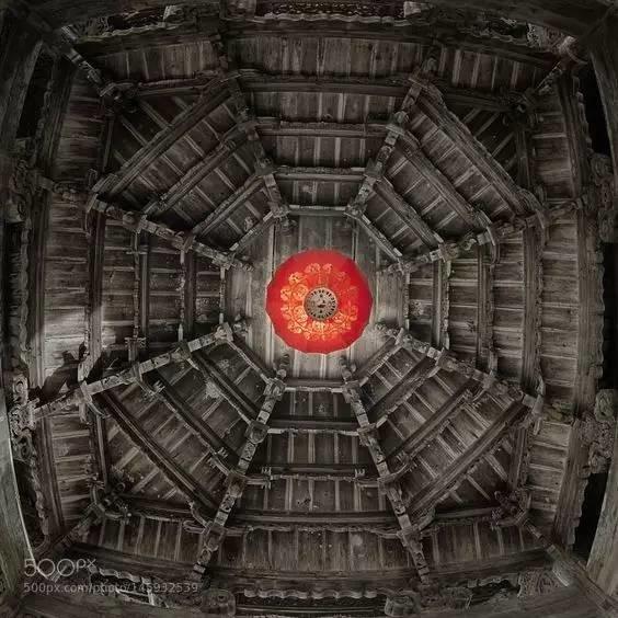 中国古建筑的繁复竟然可以这么美!