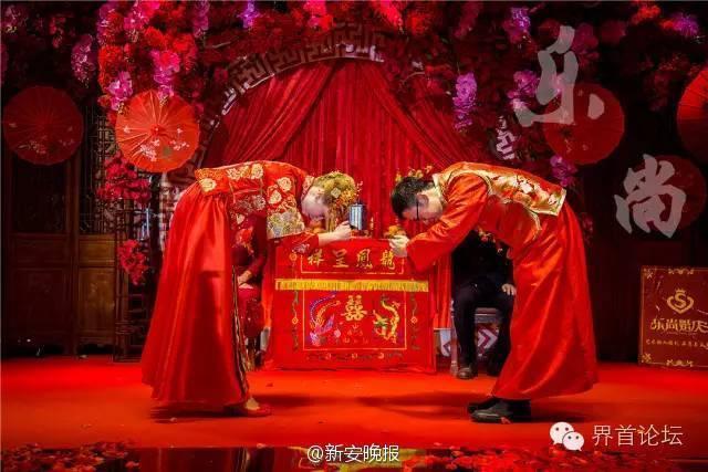 小伙娶乌克兰媳妇 婚礼仪式采用中国传统婚礼(组图)