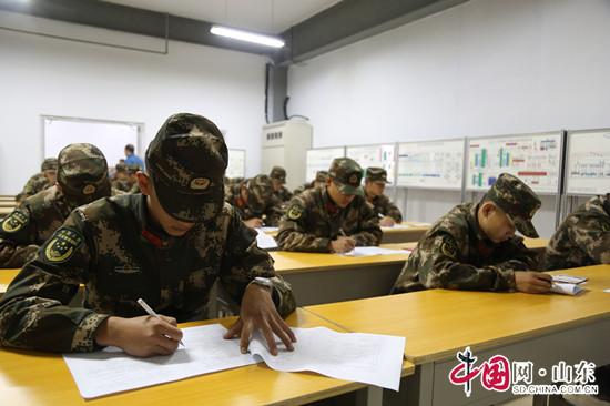 武警滨州支队组织44名战士参加职业资格证培训考试