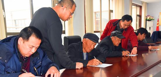 滨州彭李街道办事处:对21个居委会开展综合考评