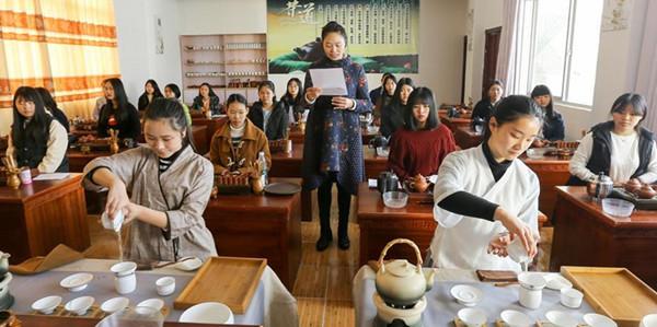 开办茶艺师等茶文化课程 武夷山职业教育彰显特色(组图)