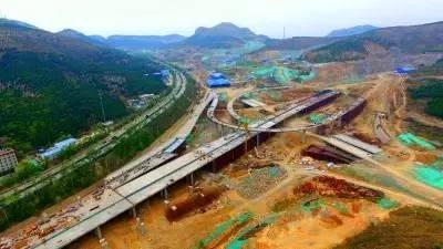 高架直通京沪高速 - 中国网