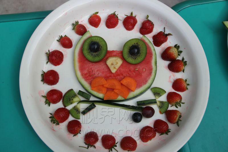 """太有才小盆友的""""水果拼盘""""创意超乎你的想象图片"""