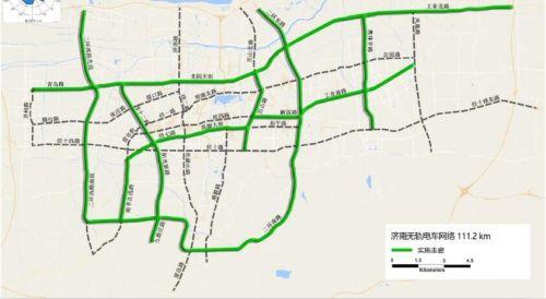 济南建8条公交专用走廊