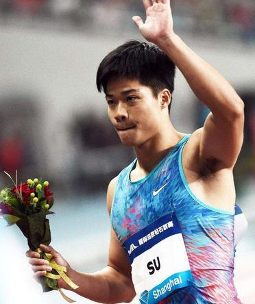 苏炳添百米夺冠 创今年中国男子百米最好成绩(组图)