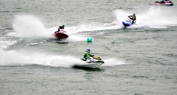 2017全国摩托艇锦标赛在山东临沂落幕(组图)