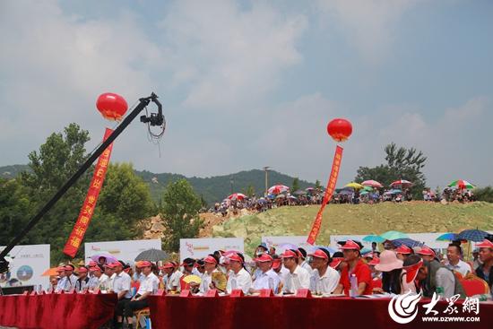 活动现场   7月12日上午,由日照市旅发委,海洋文旅公司,涛雒镇