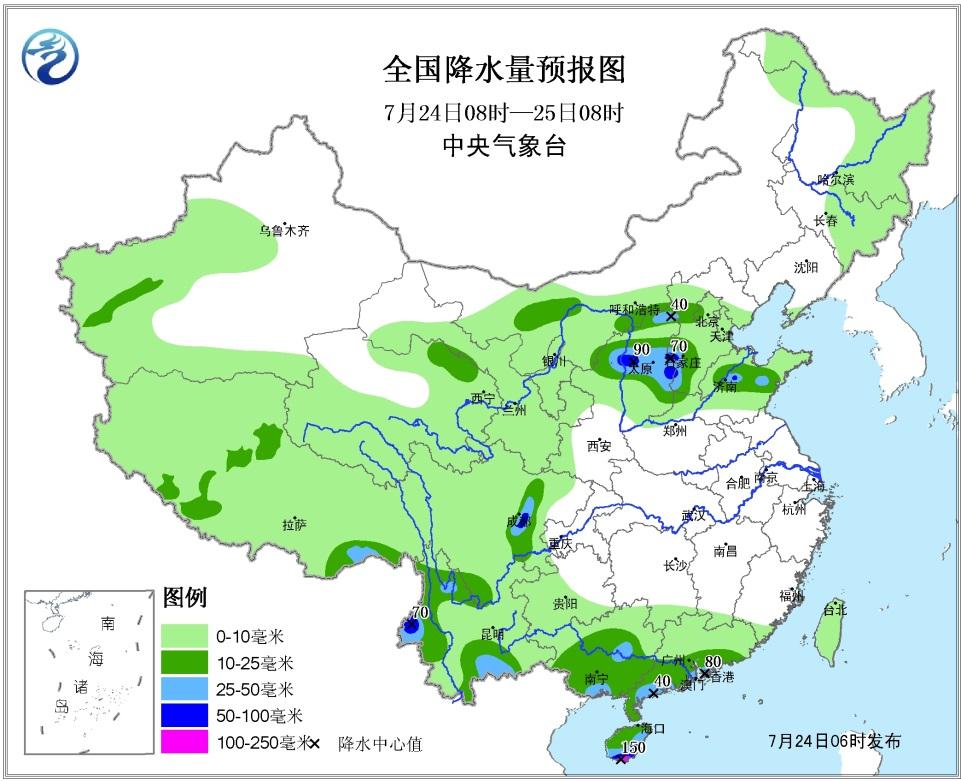 山东省本周进入多雨模式(图)